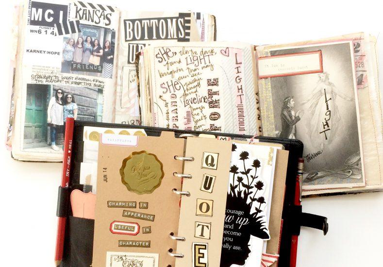 Favorite Art Journaling Spreads