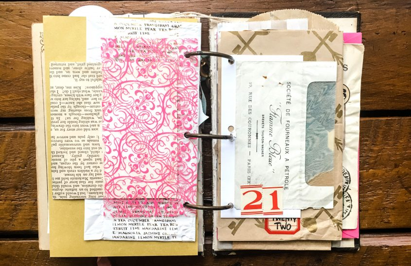 Favorite Art Journal Spreads
