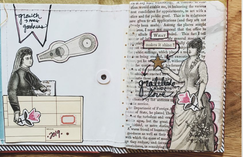 Star Stuff Journal Spreads