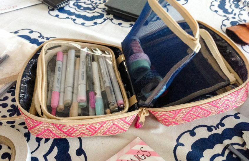 Art Journaling On the Go