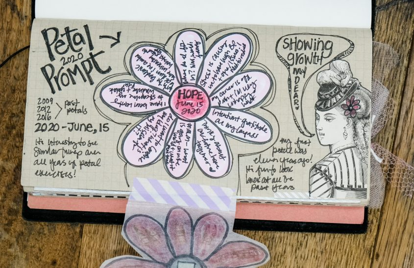 petals Check-In Journaling Exercise